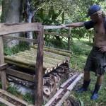 Die 2.Schicht besteht aus Bambus