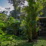 Unsere Station am Volio Wasserfall in Bri Bri Costa Rica